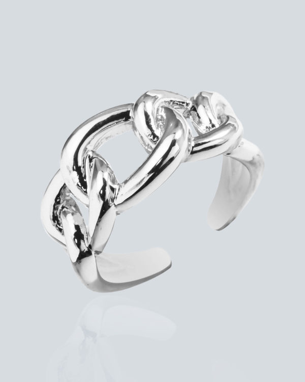Безразмерное кольцо «Цепь» Grande Stella